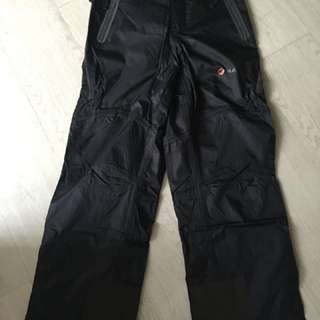 Mammut winter & ski pants lines with wool size S new