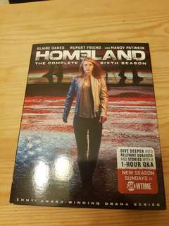 Homeland the complete sixth season blu-ray series