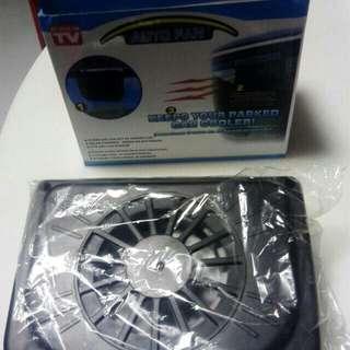0.3W car auto solar fan