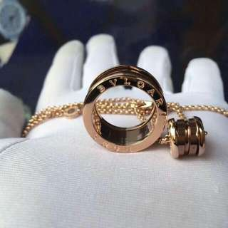 Bvlgari Rose Gold Set