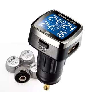 Steel Mate tire pressure monitoring syste.m