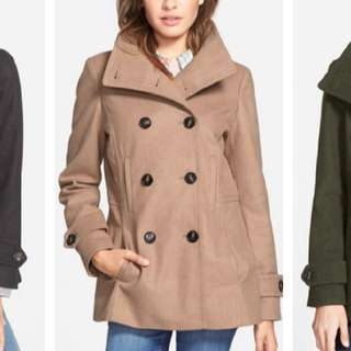 Thread & Supply Peacoat - Camel color (Size S)
