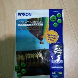 Epson photo paper 4R