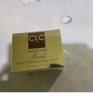 CLC Paris MakeUp-Free Miracle Snowy Cream -SPF 30+