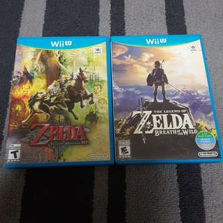 Wii U zelda Breath of the wild / twilight princess HD