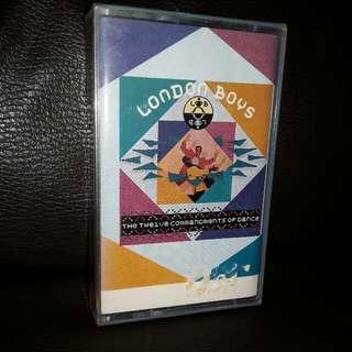 English cassette London boys