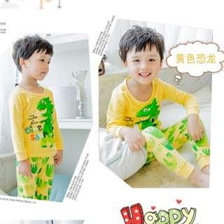 Cotton kids pajamas / pjs / sleepwear
