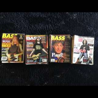 Bass player magazines (nego)