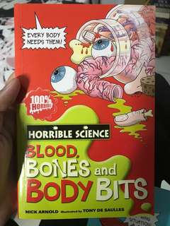 Horrible Science Blood,Bones and body bits