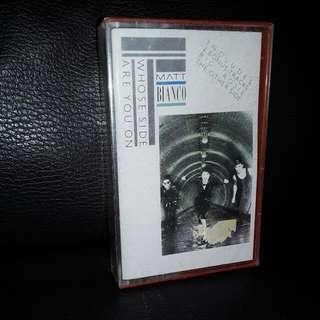 English cassette Matt Blanco
