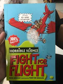 Horrible Science The fight for flight