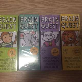Brain Quest for 2 years old onwards