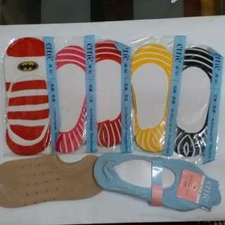 女性隱形襪子,有彈性,適合任何尺寸--2元一對, 起訂量10對,郵寄另議费用