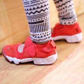 Nike air rift breeze red white kids