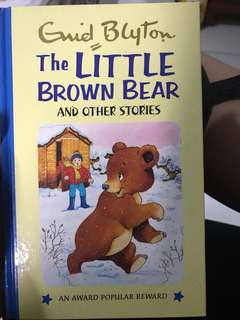 Guid Blyton's The little brown bear and other stories