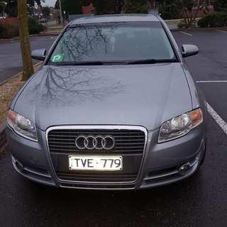 Audi a4 turbo 2005   with 8 months rego and come by Rwc ..very clean car