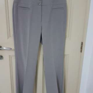 Marks & Spencer Collection Light Grey Pant - Plus Size