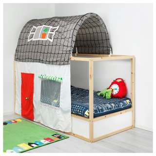 KURA kids bed tent with curtain *JUST BED TENT ONLY*