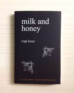 NEW Milk and Honey by Rupi Kaur