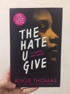 NEW The Hate U Give by Angie Thomas