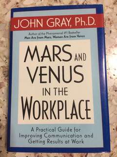 Mars & Venus In The Workplace