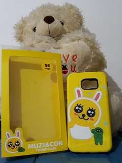 S2B COMBO CASE KAKAO FRIEND SAMSUNG GALAXY S6 EDGE