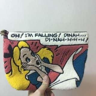 愛麗絲刺繡化妝包
