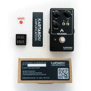 Kartakou Warmer Overdrive (TS-808 Tubescreamer style overdrive pedal)