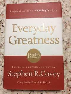 Everyday Greatness - Inspirations For A Meaningful Life