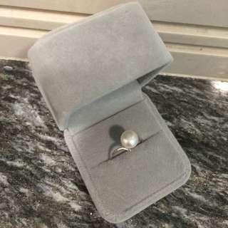 [天然珍珠]Pearl Pearl天然珍珠開口戒指 指上明珠 大特賣 $158