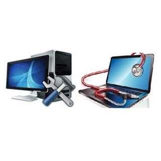 PROFESSIONAL COMPUTER (laptop/desktop) REPAIR FROM $30!