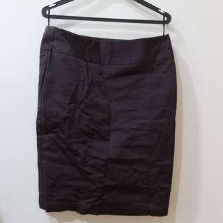 Dark Purple Formal Skirt