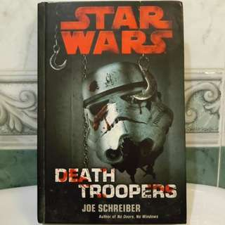 Hardcover Star Wars Death Troopers