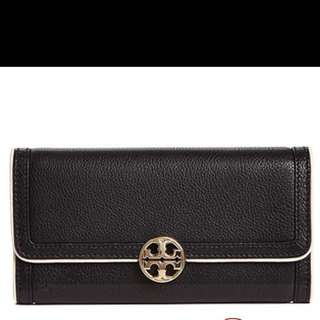 Tory Burch duet envelope continental wallet 19x10cm