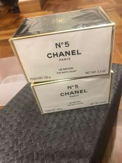 Brand New Chanel No 5 Bath Soap