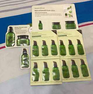 Innisfree Green Tea Seed Samples🌱