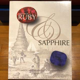 The Book of Ruby & Sapphire - manuscript by J.F. Halford-Watkins and edited by Richard W. Hughes