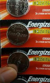 Battery CR2025 energizer