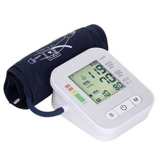 LCD Automatic BP Digital Blood Pressure Monitor Portable 6V