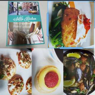 My soho kitchen Recipe Cook Book