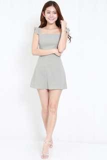 PO Carrislabelle Dainty Flutter Sleeve Dress