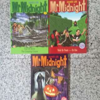 Mr Midnight (3 books)