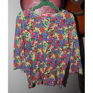 Floral Shirt (on sale)