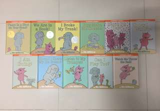 Set of 11 Elephant & Piggie Books (Hard Cover)