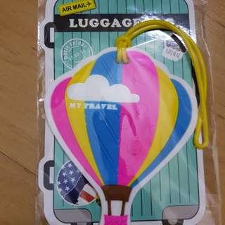 Parachute Luggage Tag