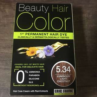 Eric Favre Organic Beauty Hair Color Hairdye