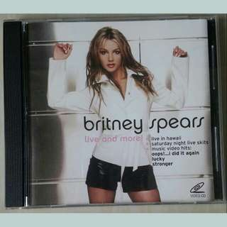 VCD: Britney Spears Live And More
