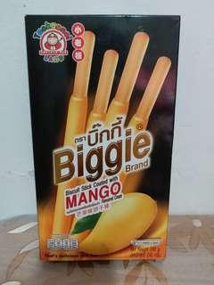 小老板芒果味巨型餅干棒