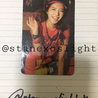 SNSD's Sunny Photocard from Oh!
