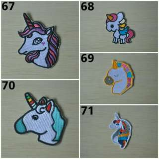 All horse patch
